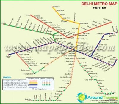 Metro-Delhi-circuit-description-photo-map-metro-Delhi