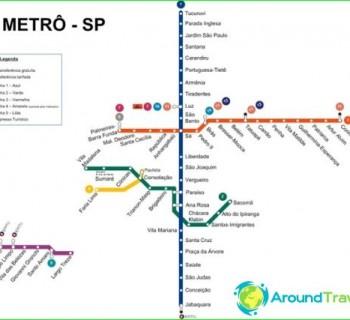 Metro São Paulo-circuit-description-photo-map-metro