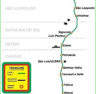 Metro Porto Alegre-circuit-description-photo-map-metro