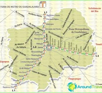 Metro Guadalajara-circuit-description-photo-map-metro