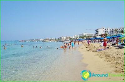 Protaras beaches, photo-best-sand-beaches-in