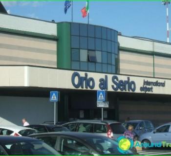 Airport Bergamo-in-chart-like photo-get-up