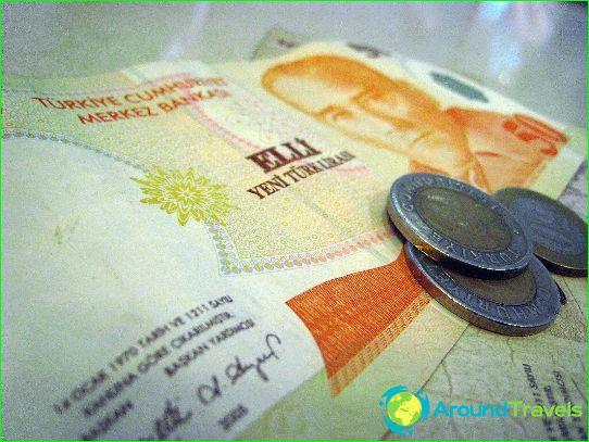 tyrkiske lira sedler