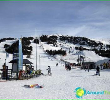 the ski resorts of Andorra, photo-ratings-mining