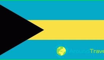 Flag Bahamian islands, photo-history value
