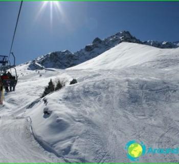 ski resorts, Kazakhstan and photo-reviews-mountain