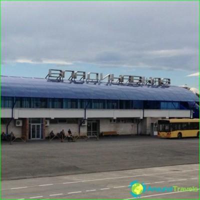 Airport of Vladikavkaz-diagram-like photo-get