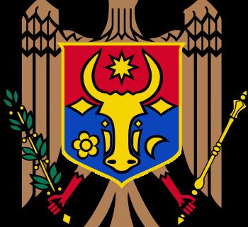 coat of arms Moldova photo-value-description