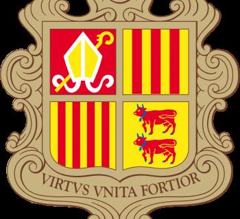 Andorra coat of arms, photo-value-description