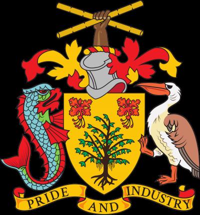 Barbados coat of arms, photo-value-description