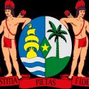 Suriname coat of arms, photo-value-description