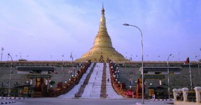 Myanmar capital-card-photo-kind-in-capital of Myanmar