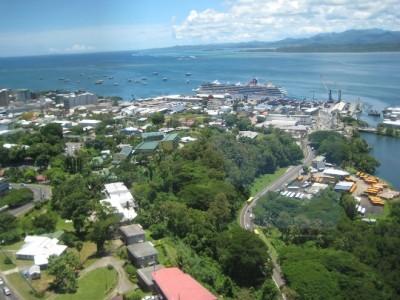 Fijian capital-card-photo-kind-in-the capital of Fiji