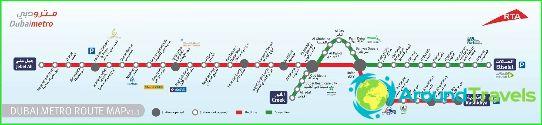 Metro Dubai Diagrama Descriere Fotografii Harta Metro Dubai