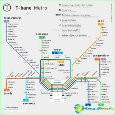 Metro Oslo-circuit-description-photo-map-metro-oslo