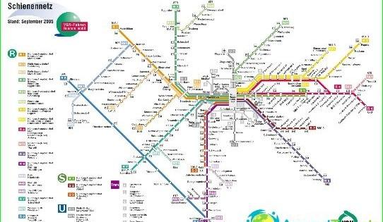 Metro Nuremberg Diagrama Descriere Fotografii Harta Metrou Din