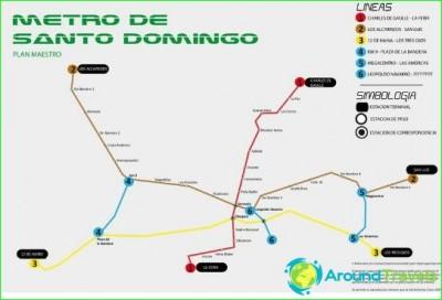 Metro Santo Domingo-circuit-description-photo card
