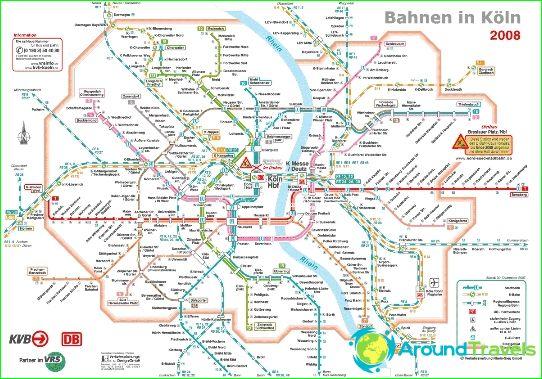 Koln Metro Diagram Beskrivelse Fotos Subway Kort Over Koln