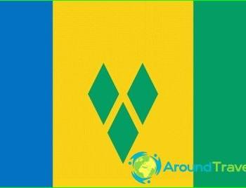 Flag of Saint Vincent-and-grenadine photo-history