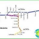Subway Medellin-circuit-description-photo-map-metro