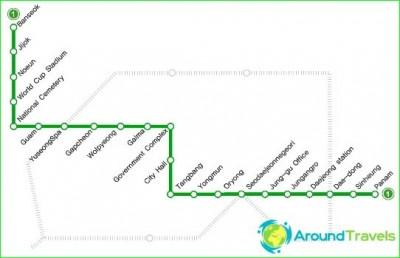 Metro Daejeon-circuit-description-photo-map-metro