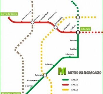 Metro Maracaibo-circuit-description-photo-map-metro