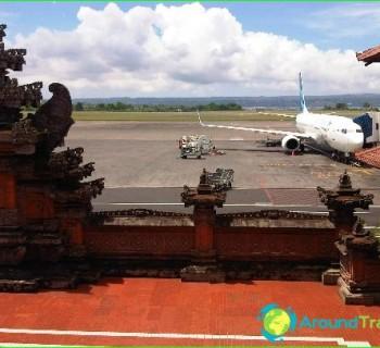 Airport in Denpasar-diagram-like photo-get-up