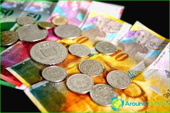 Svájc pénzneme