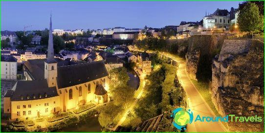 hvad er hovedstaden i luxemburg