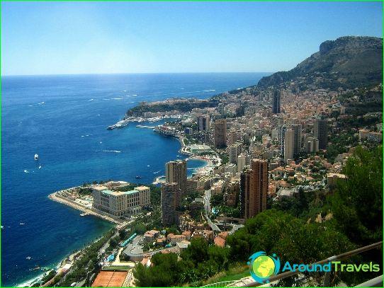 Hovedstaden I Monaco Kort Foto Hvad Er Hovedstaden I Monaco