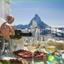 Swiss wine-red, dry white wine, the best-