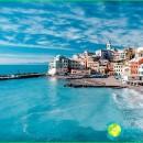 Ligurian sea-card-photo-Ligurian coast
