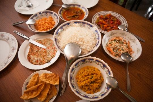 Küche von Sri Lanka: Fotos, Rezepte und Gerichte der nationalen ...