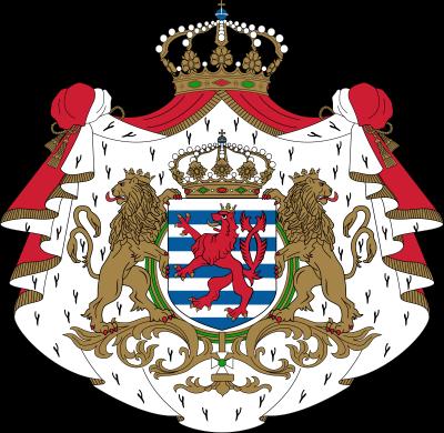 Luxembourg coat of arms, photo-value-description