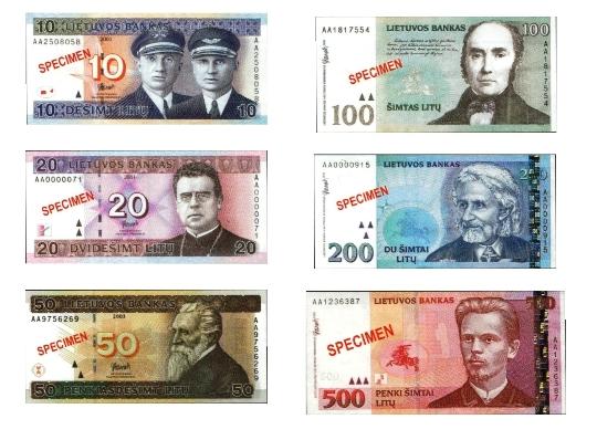 Litauen byter valuta
