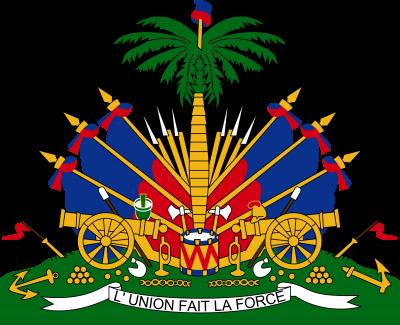 Haiti coat of arms, photo-value-description
