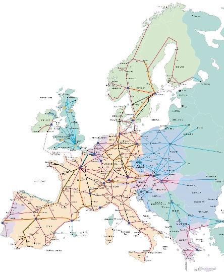 Rail Europe Kartta Verkkosivusto Valokuvia