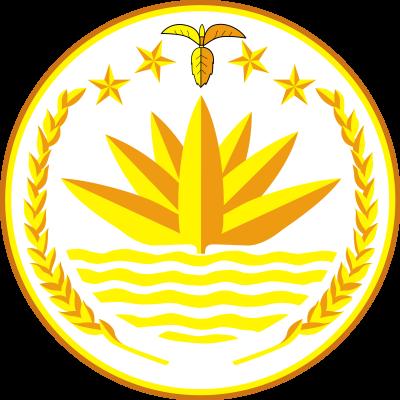 Bangladesh coat of arms, photo-value-description