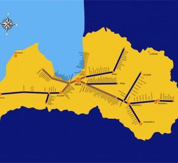rail-road-map Latvia-site photo