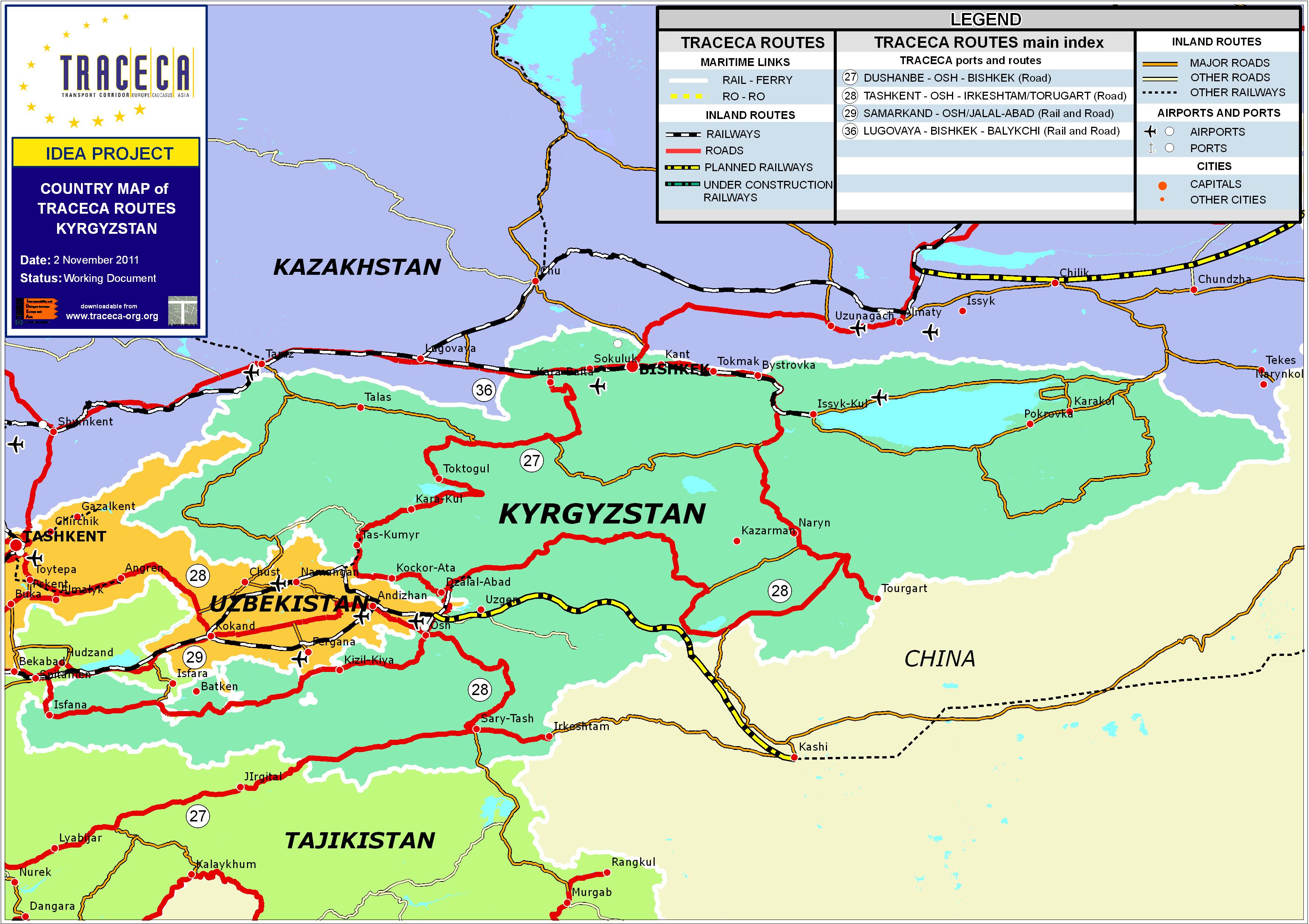 kirgisistan kart Railway Kirgisistan   kart, nettside, bilder kirgisistan kart
