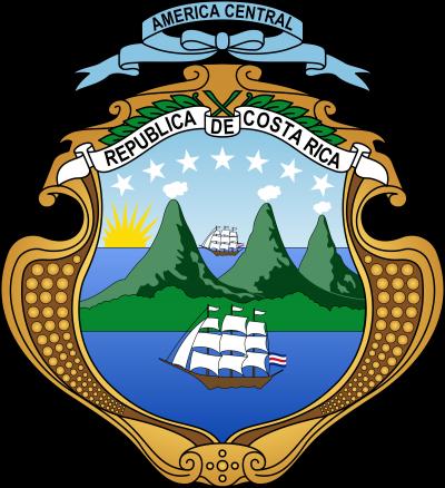 coat of arms, Costa Rica photo-value-description