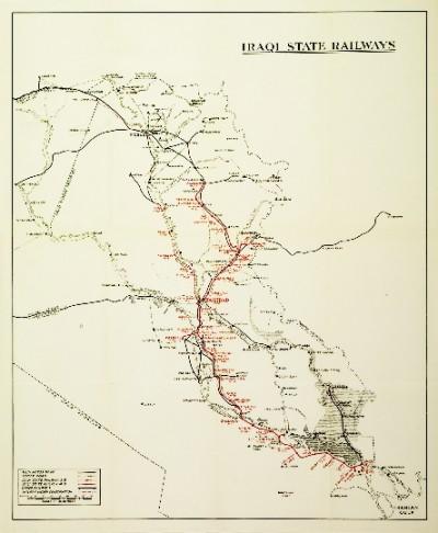 rail-road-Iraq-card-site photo