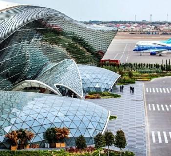 Airports Azerbaijan-list of international