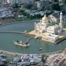 the capital of Brunei-card-photo-kind in the capital-Bruno