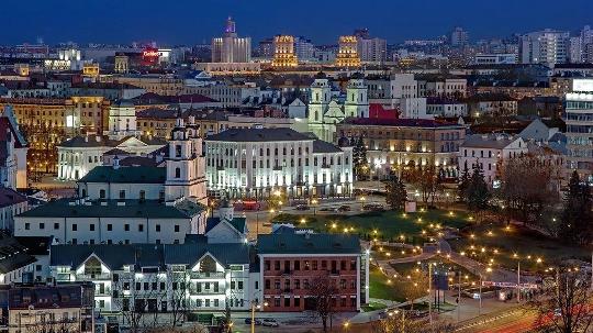 hvad hedder hovedstaden i hviderusland