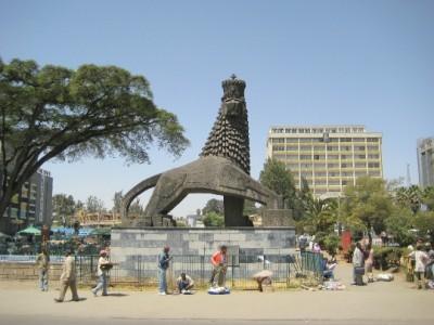 the capital of Ethiopia-card-photo-kind-in-the capital of Ethiopia