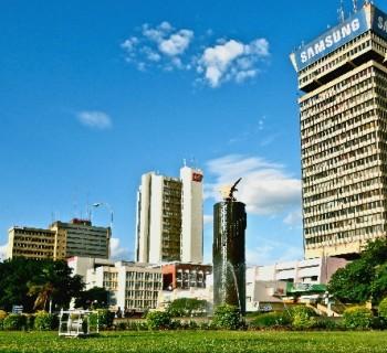 capital of Zambia-card-photo-kind-in-the capital of Zambia