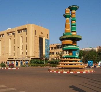 the capital of Burkina Faso-card-photo-kind-in capital