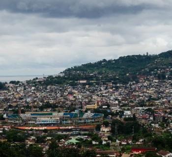 the capital of Sierra Leone Card photo-kind-in capital