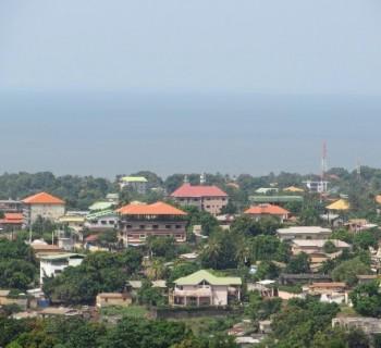 the capital of Guinea-card-photo-kind-in-capital of Guinea